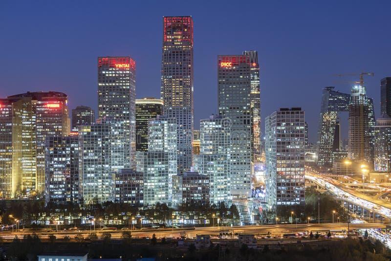 Beijing Skyline immagine stock