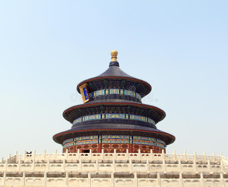 Beijing Temple Of Heaven Stock Image
