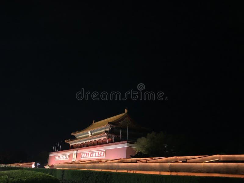 Beijing Tian`anmen images libres de droits
