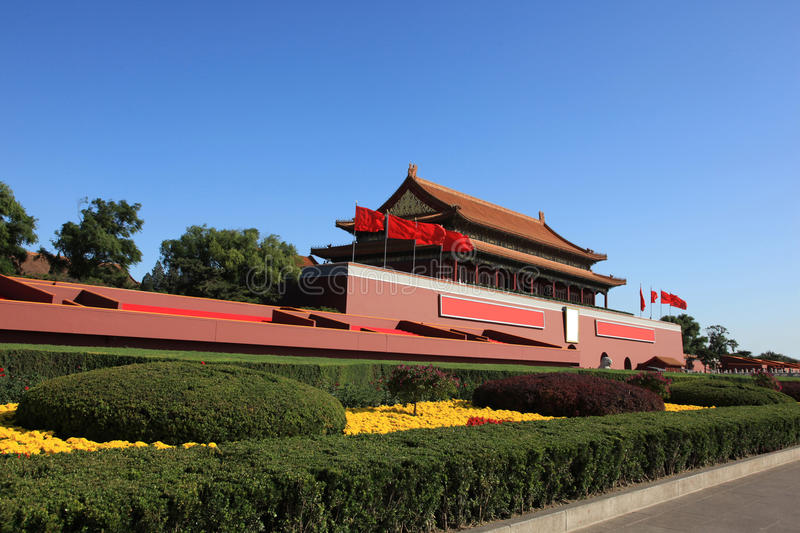 Beijing tiananmen royalty free stock images