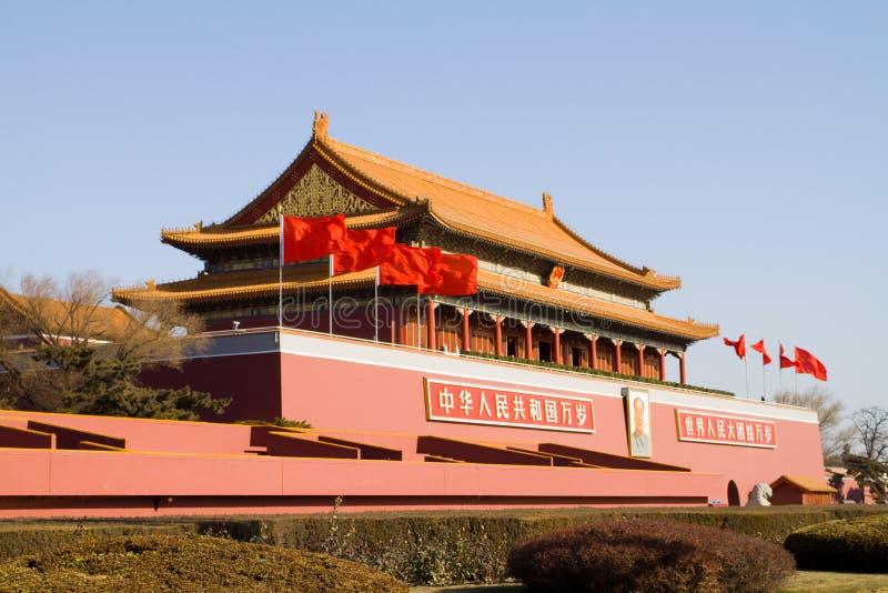 Beijing Tiananmen stock photo