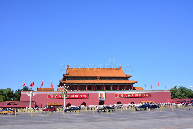 beijing Tiananmen obraz royalty free