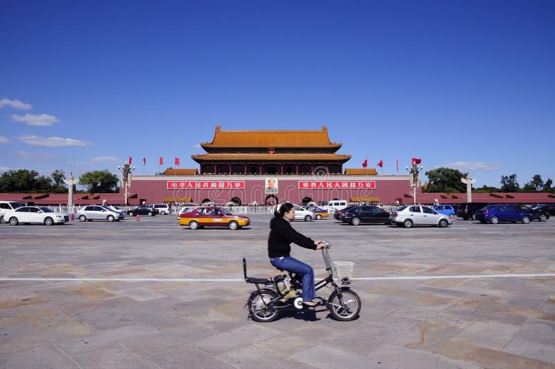 Beijing tiananmen square royalty free stock photos