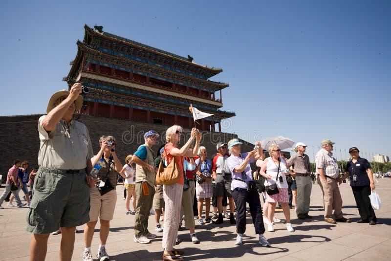 Beijing.Tiananmen Square royalty free stock photo