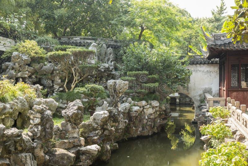 beijing trädgårds- slottsommar arkivfoton