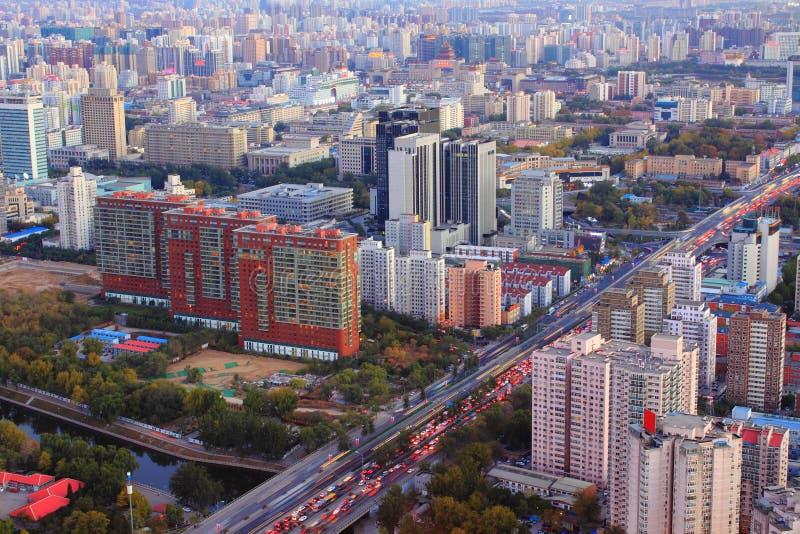 Beijing urban landscape royalty free stock images