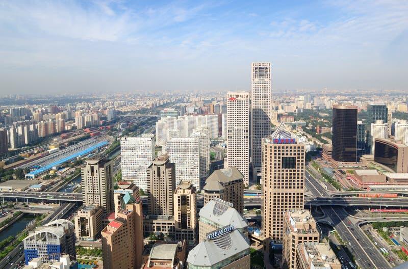 Beijing Urban Skyline,China royalty free stock images