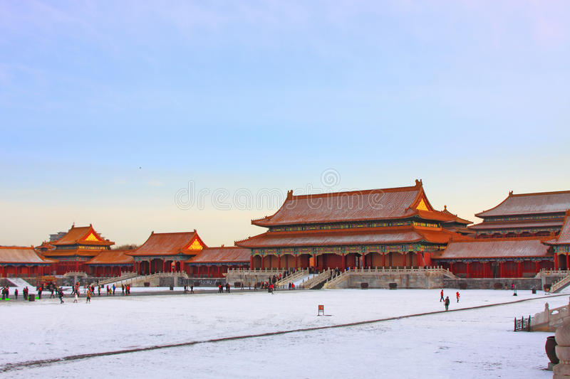Download Beijings Forbidden City Royalty Free Stock Image - Image: 36597876