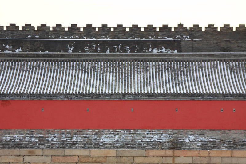 Download Beijings Forbidden City stock photo. Image of gold, culture - 36598606