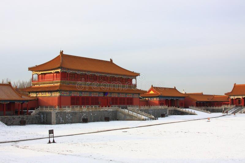 Beijings la ciudad Prohibida imagen de archivo libre de regalías