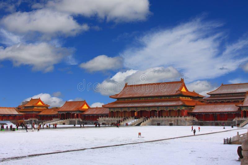 Beijings la ciudad Prohibida fotos de archivo libres de regalías