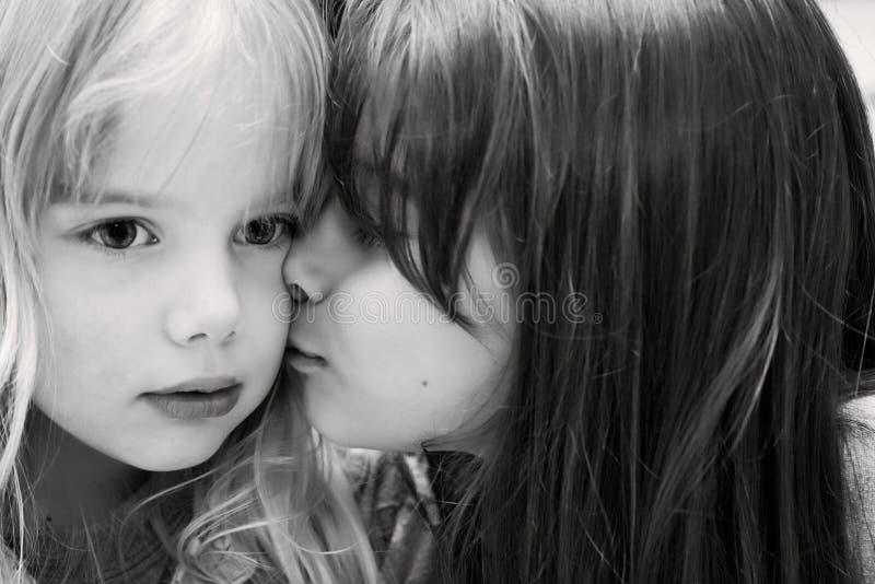 Beijo imagem de stock royalty free