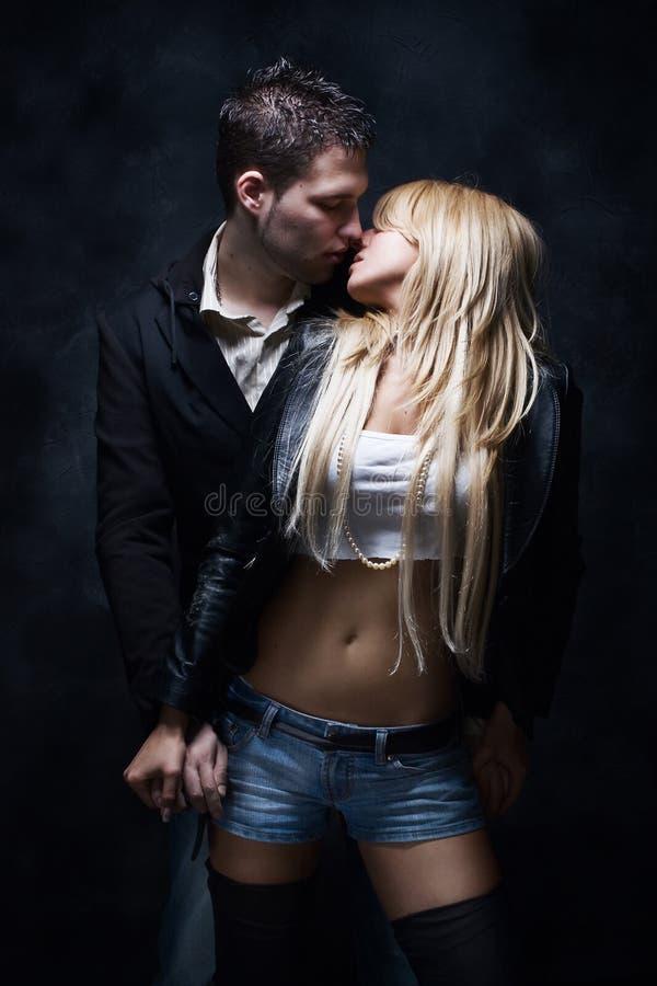 Beijo fotografia de stock