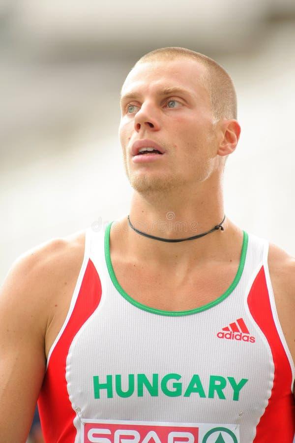 Beijo de Daniel de Hungria fotos de stock royalty free
