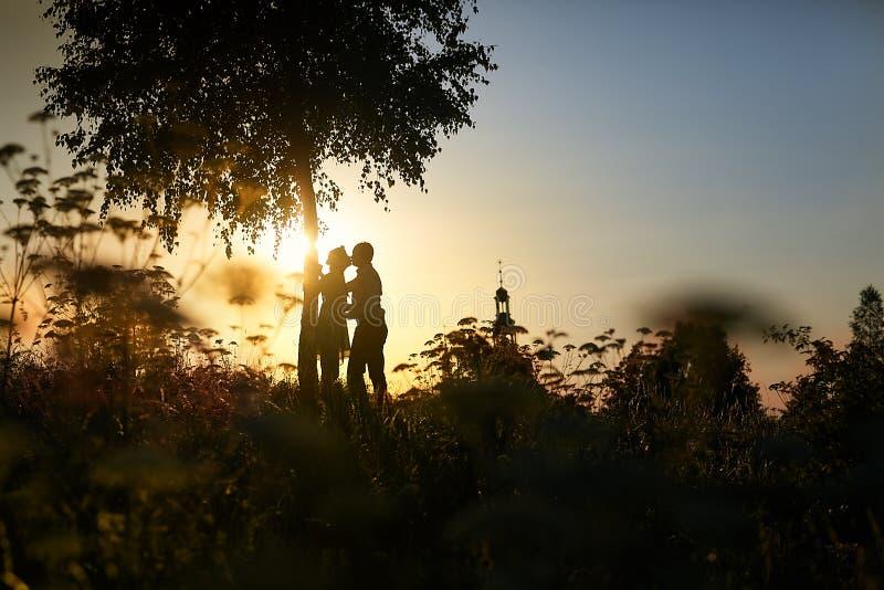 Beijo do casamento fotos de stock royalty free