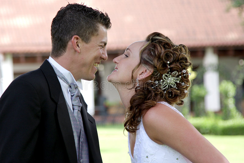 Beijo dos pares fotos de stock