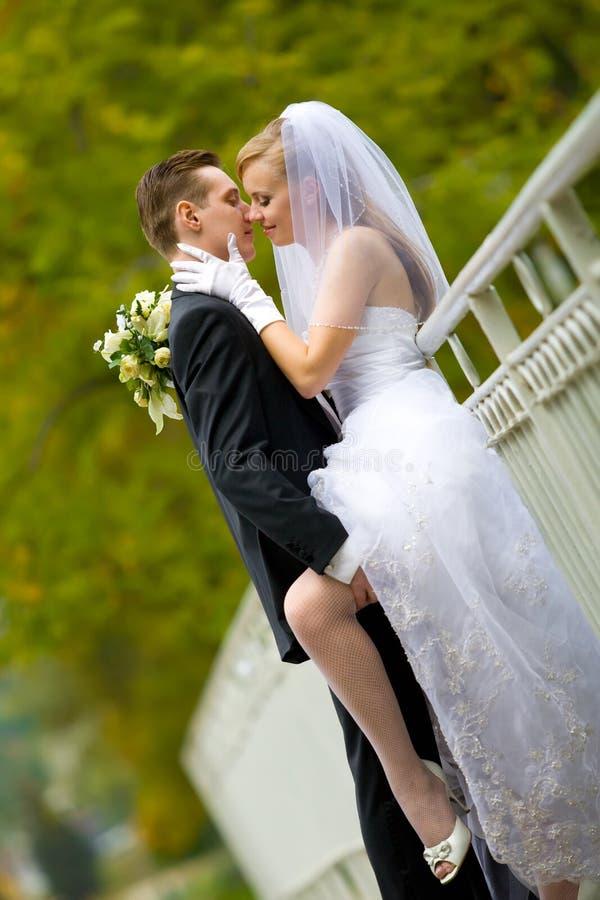Beijo muito intimate imagem de stock royalty free