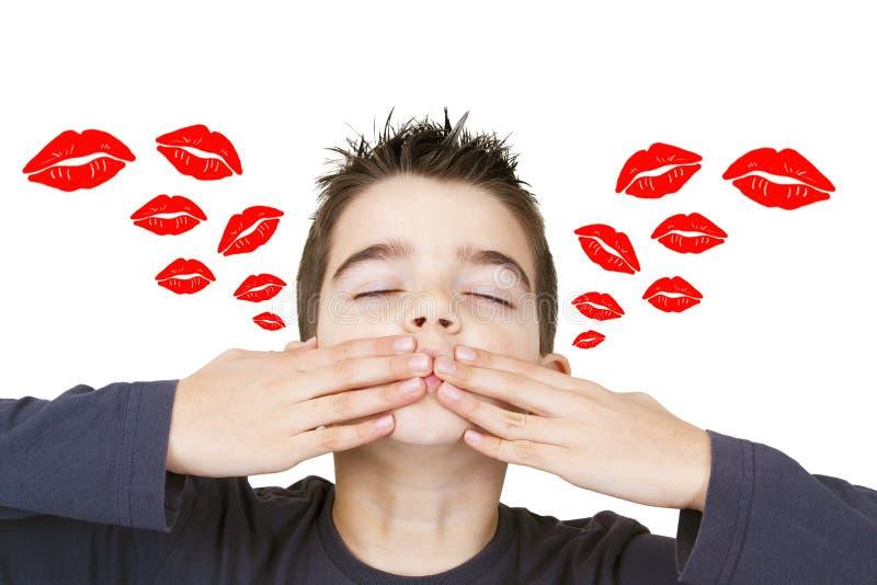 Beijos imagem de stock