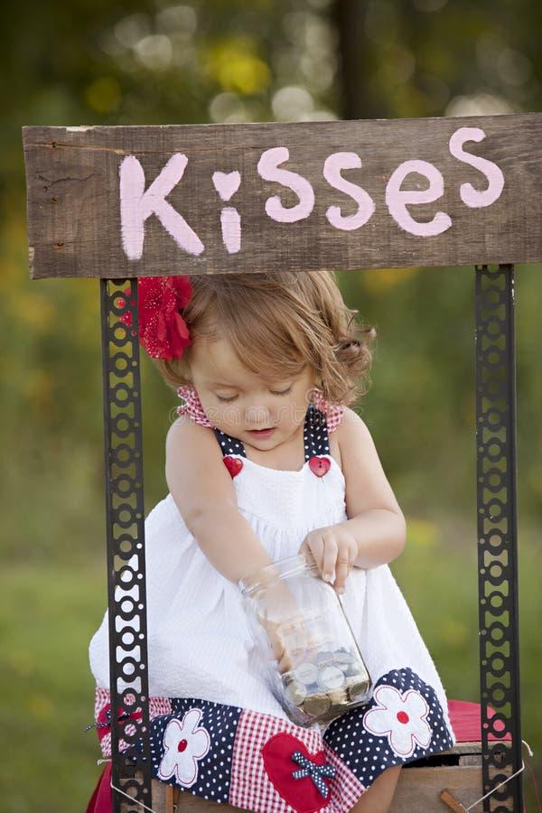 beijos imagem de stock royalty free
