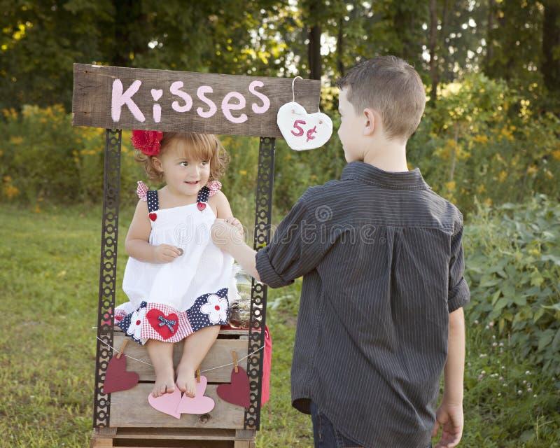 Beijos para você imagens de stock royalty free