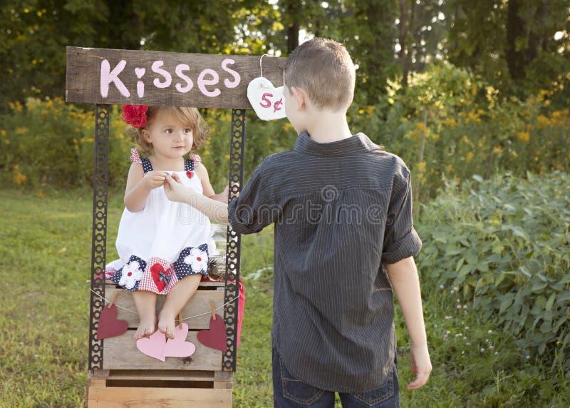 Beijos para você fotografia de stock