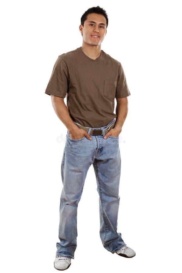 Beiläufiger Mann stockfoto
