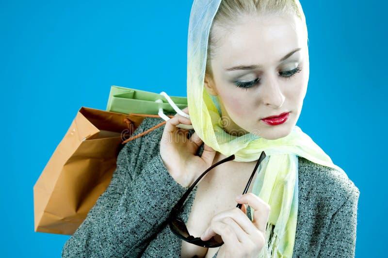 Beiläufiges Einkaufen stockfoto