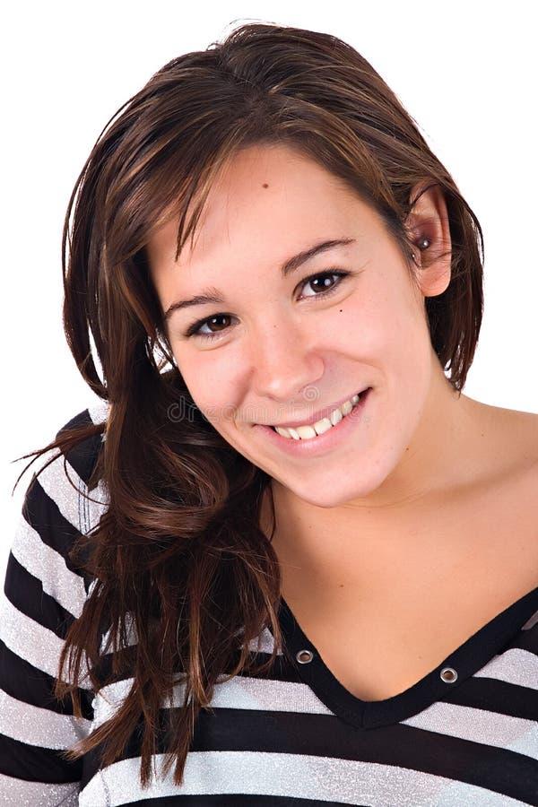 Beiläufiges Lächeln lizenzfreies stockfoto