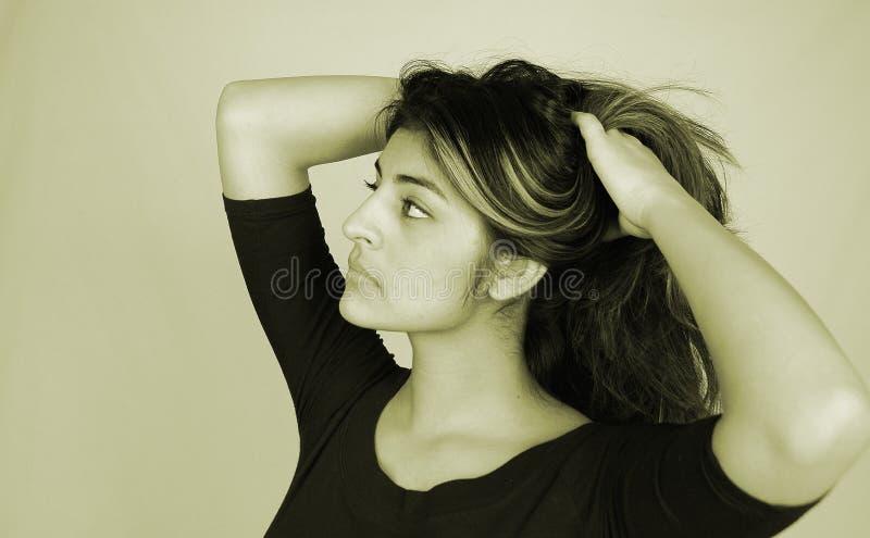 Beiläufiges Woman-10 Stockbild