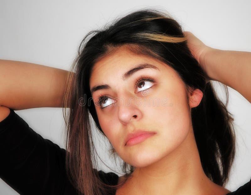 Beiläufiges Woman-12 Stockfoto