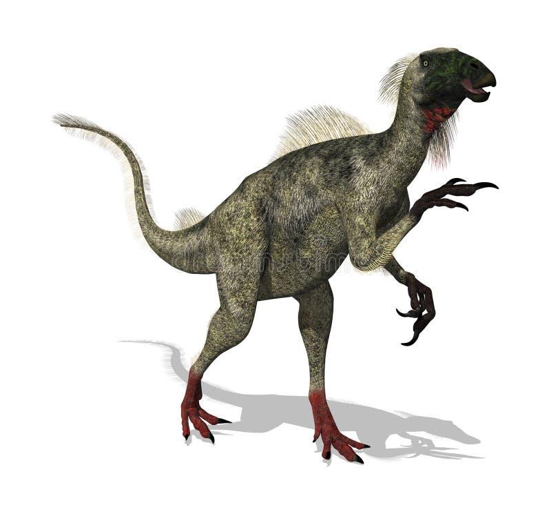 beipiaosaurus stock illustrationer