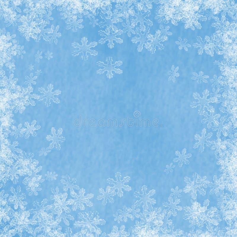Beira 02 da neve ilustração royalty free