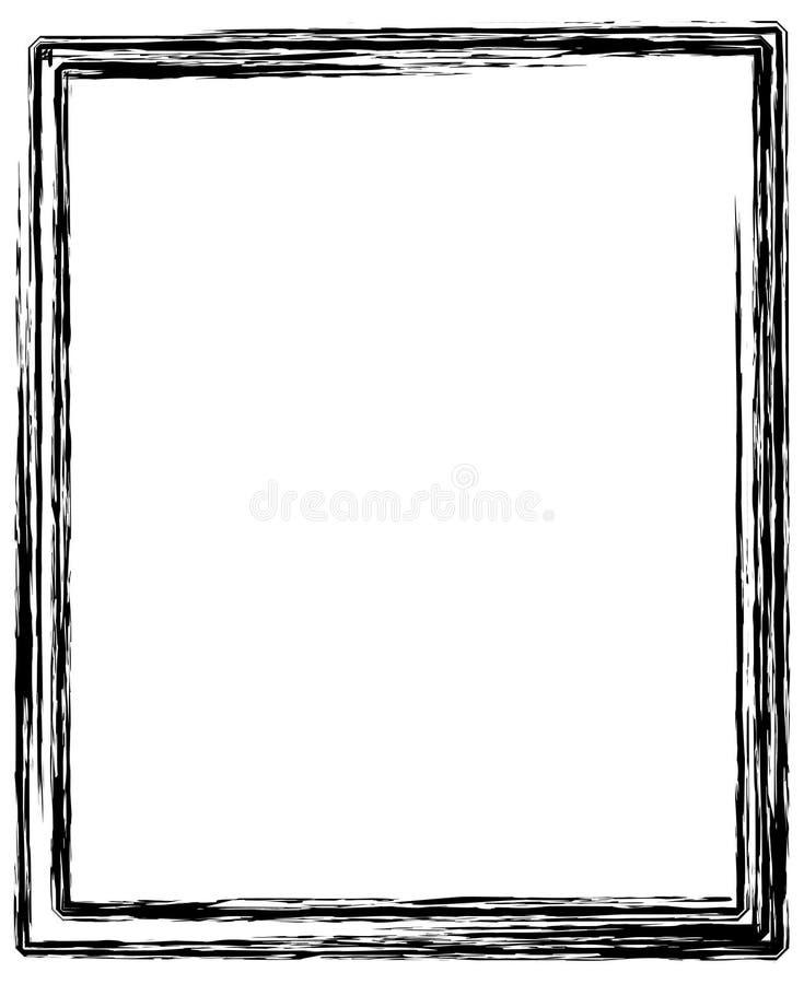 Beira ilustração do vetor