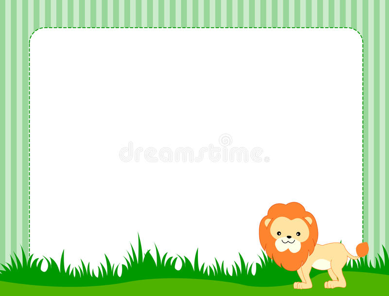 Beira animal ilustração royalty free