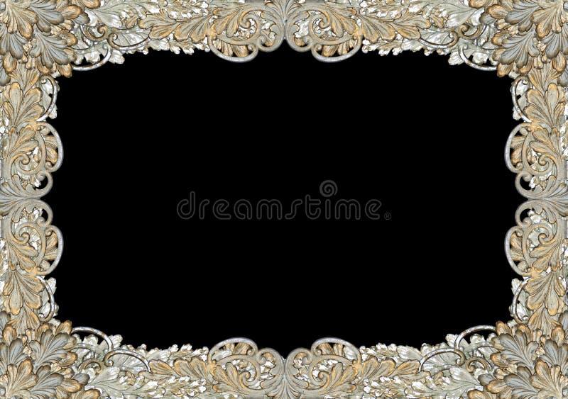 Beira antiga ornamentado, quadro foto de stock