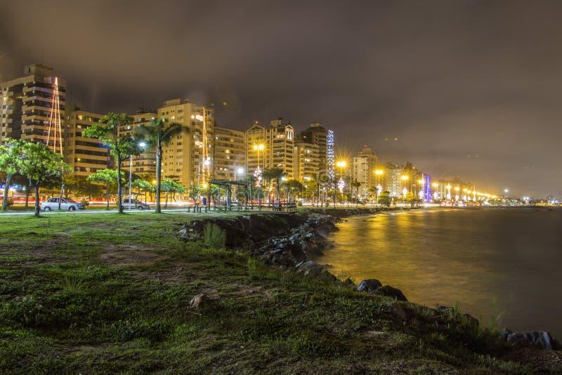 Beira brengt Weg - Florianopolis in de war - Sc - Brazilië stock afbeeldingen