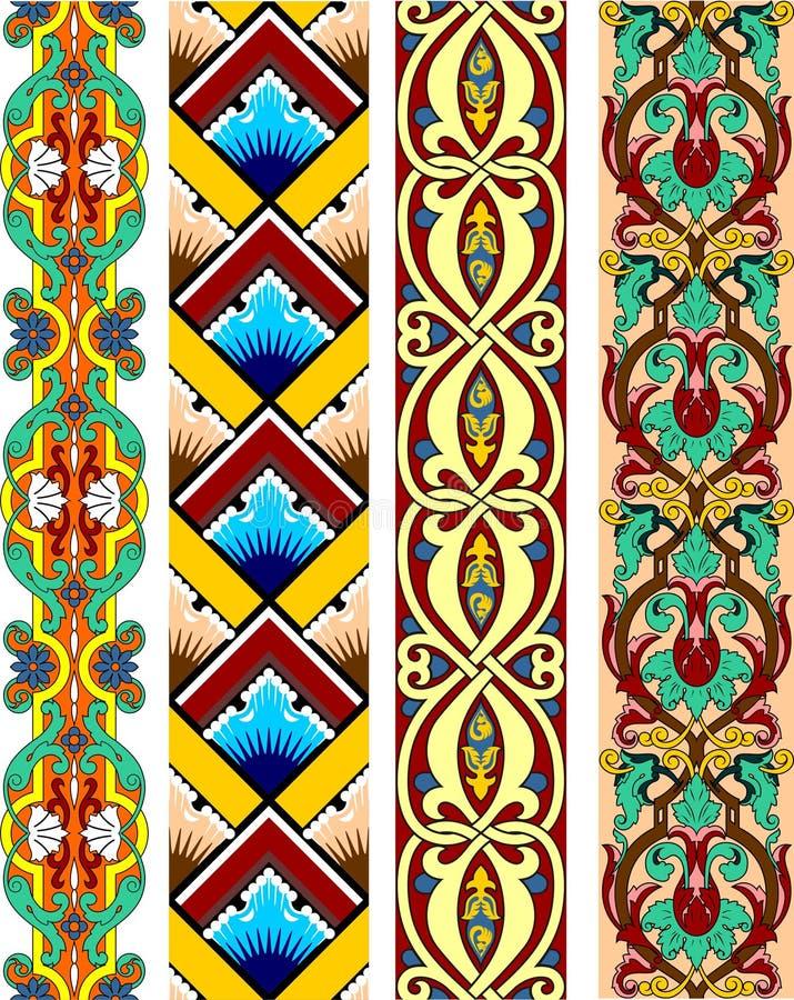 Beira colorida ilustração royalty free