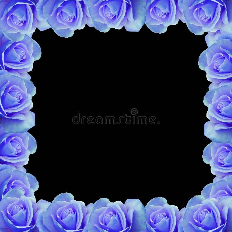 Beira cor-de-rosa do vetor do azul ilustração royalty free