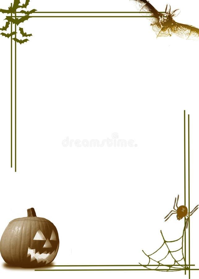 Beira Da Abóbora De Halloween Imagem de Stock Royalty Free