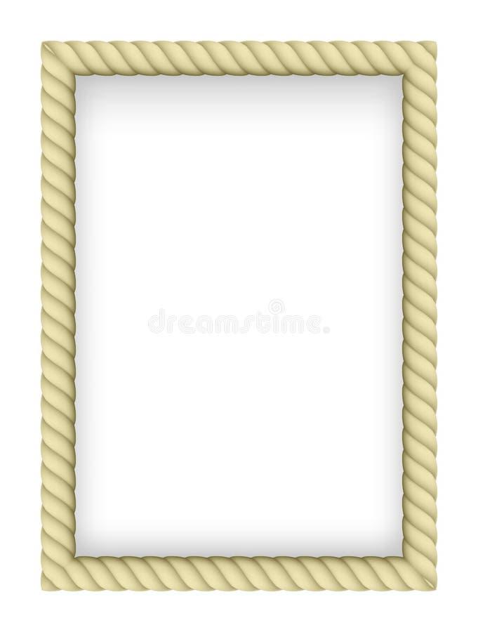 Beira da corda ilustração royalty free