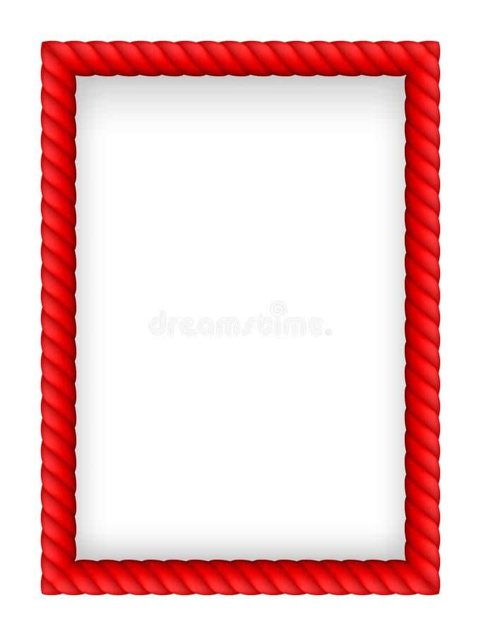 Beira da corda ilustração stock