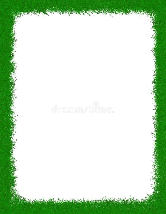 Beira da grama ilustração do vetor