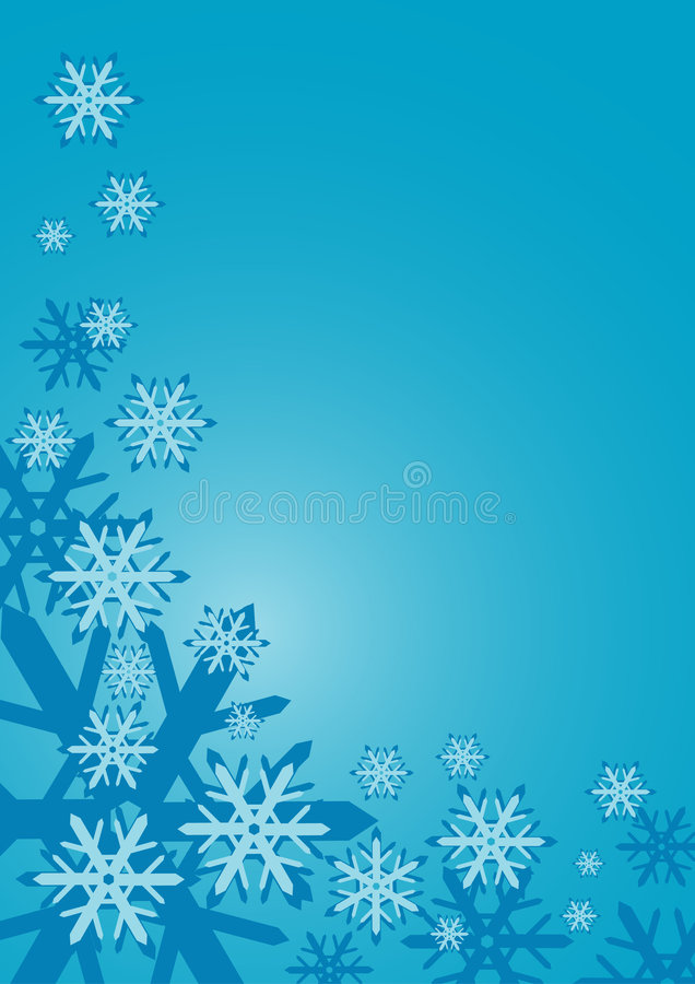 Beira da neve ilustração stock