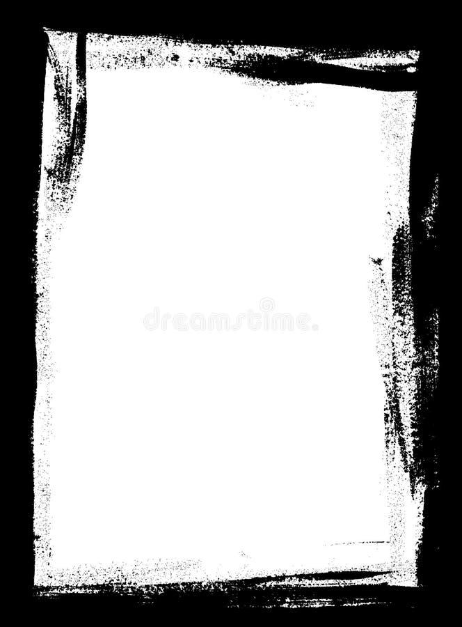 Beira da págiana inteira ilustração stock