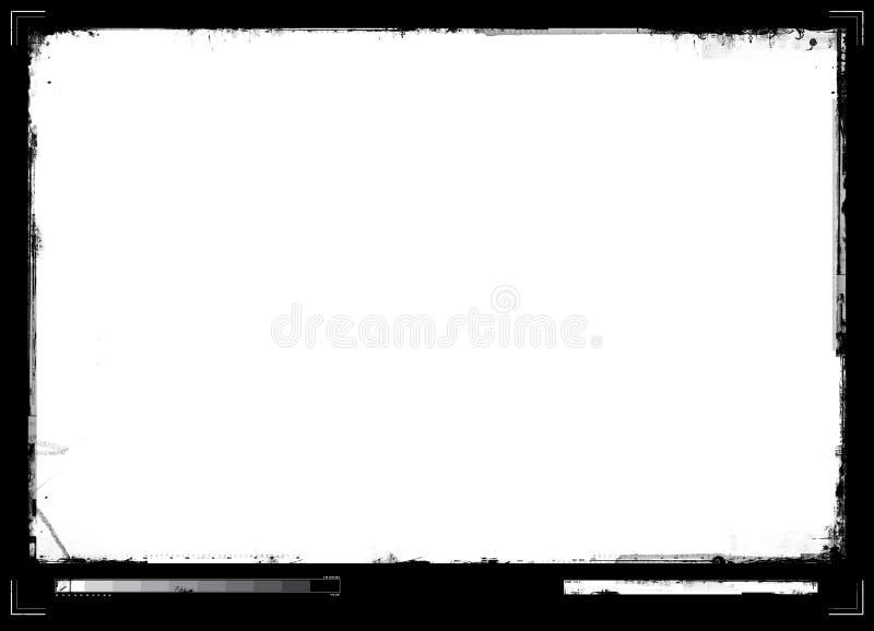 Beira de Grunge ilustração stock