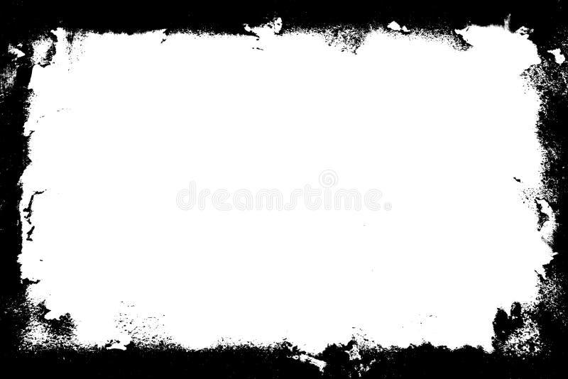 Beira de Grunge ilustração do vetor