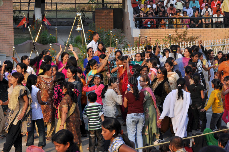 beira de Indo-Paquistão fotos de stock