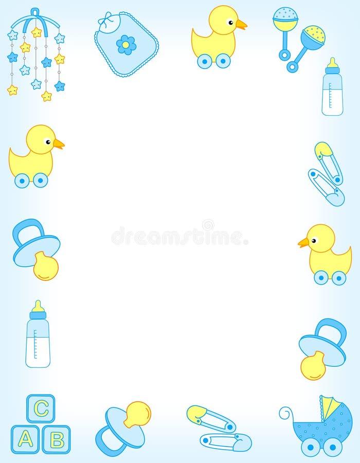 Beira do bebê ilustração do vetor