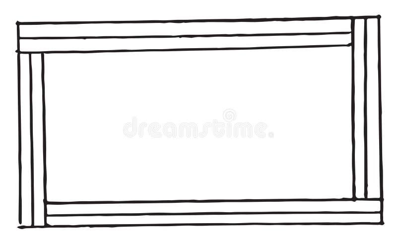 Beira do desenho da mão para imagens foto de stock