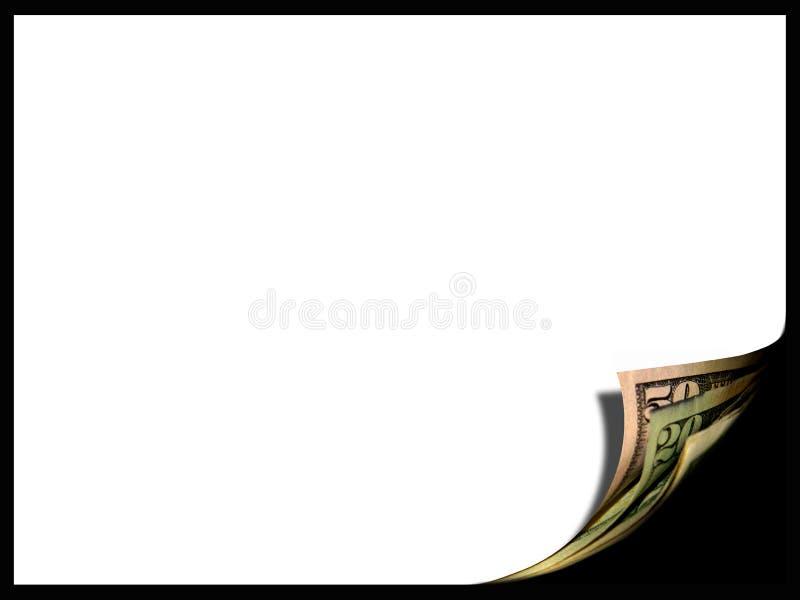 Beira do dinheiro fotografia de stock
